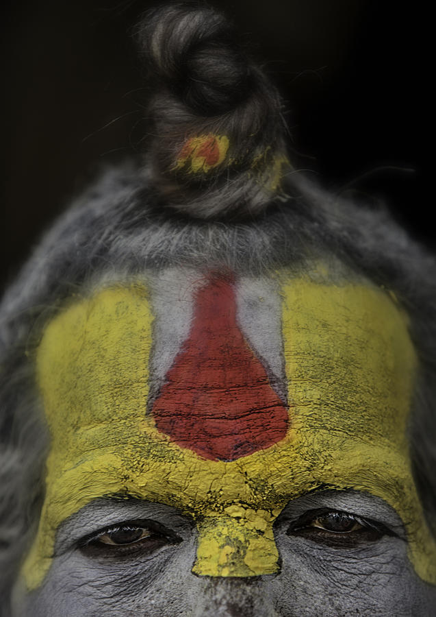 Nepal Photograph - The Eyes Of A Holy Man 2 by David Longstreath