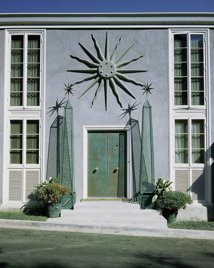 The Facade Of Tony Duquettes House Photograph by Shirley C. Burden