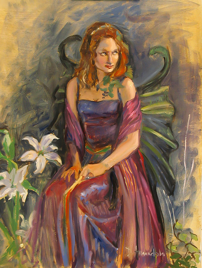 Impressionism Painting - The Fairy by Dominique Amendola