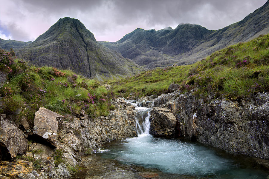 The Fairy Pools Waterfalls Isle Of Skye Photograph By