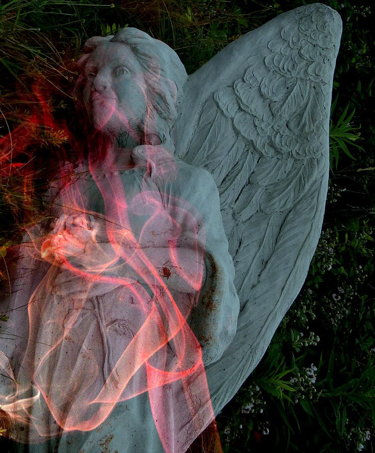 People Photograph - The Fallen Angel by Irma BACKELANT GALLERIES