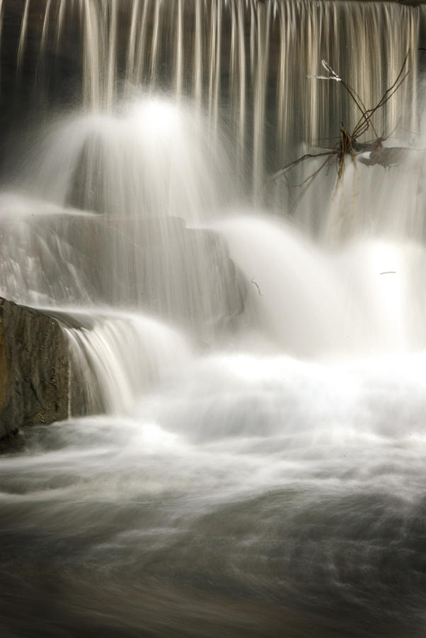 Water Falls Photograph - The Falls 2 by Cindy Rubin
