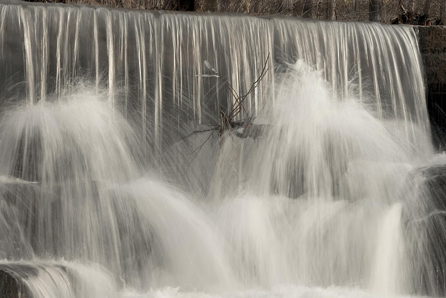 Water Falls Photograph - The Falls by Cindy Rubin