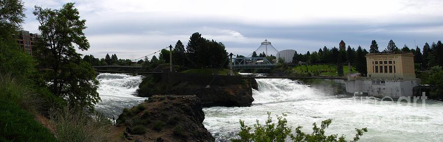 Spokane River Photograph - The Falls by Greg Patzer
