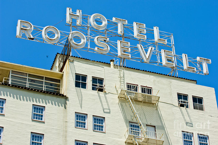 The Famous Roosevelt Hotel Photograph