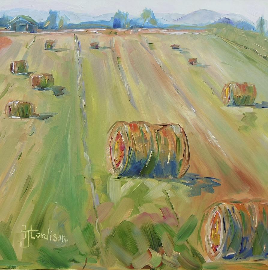 Farm Painting - The Farm by Josephine Hardison