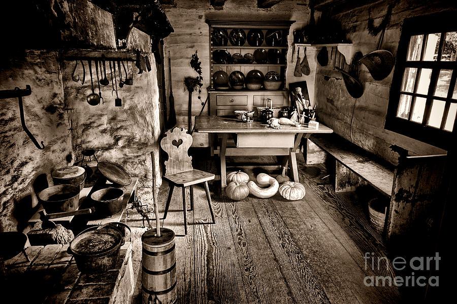 Farmstead Photograph - The Farmstead by Olivier Le Queinec
