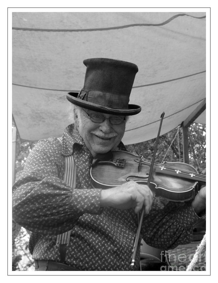 Fiddler Photograph - The Fiddler by Sara  Raber