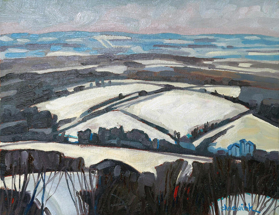 Beeton Painting - The Fifth Line by Phil Chadwick