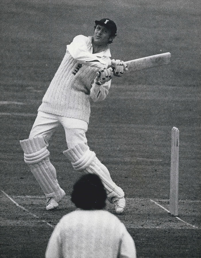 Retro Photograph - The First Day Of The Second Test - England V. New Zealand by Retro Images Archive