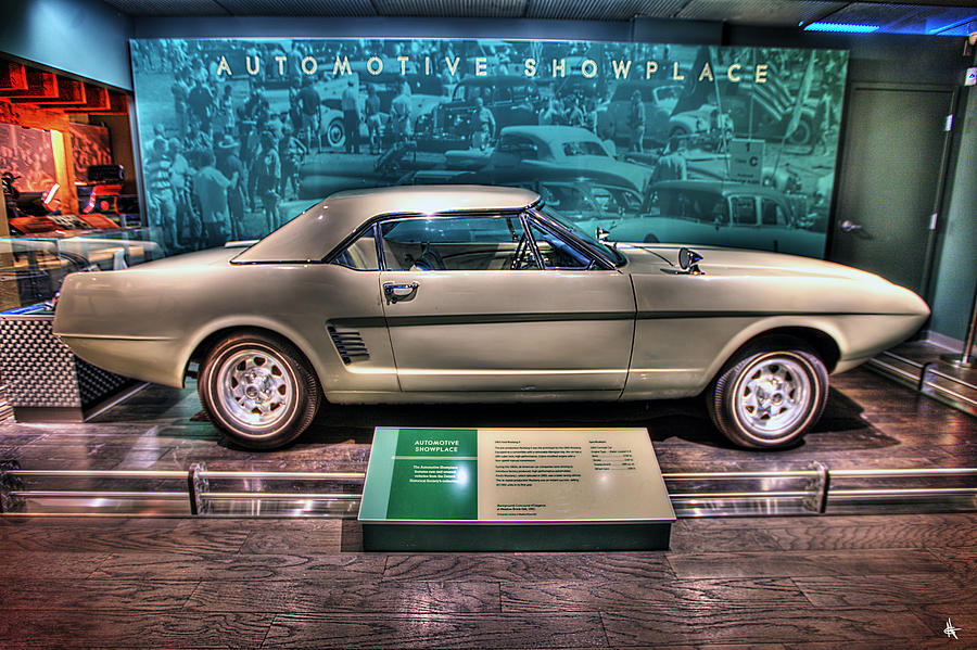 The First Photograph - The First Mustang  by Nicholas  Grunas