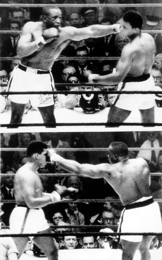 Ali Photograph - The First Sonny Liston Vs. Cassius Clay by Everett