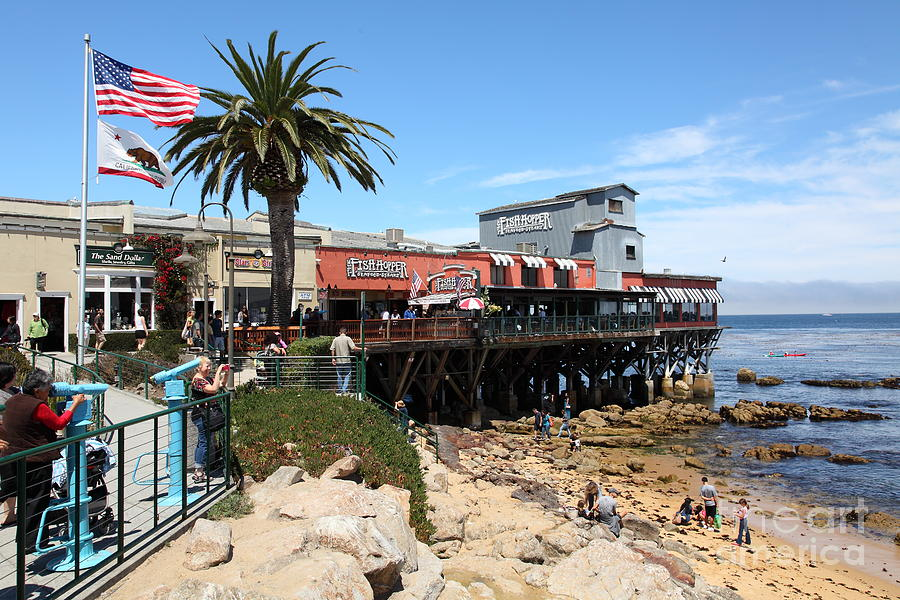 the aftermath of depression in cannery row monterey bay in california