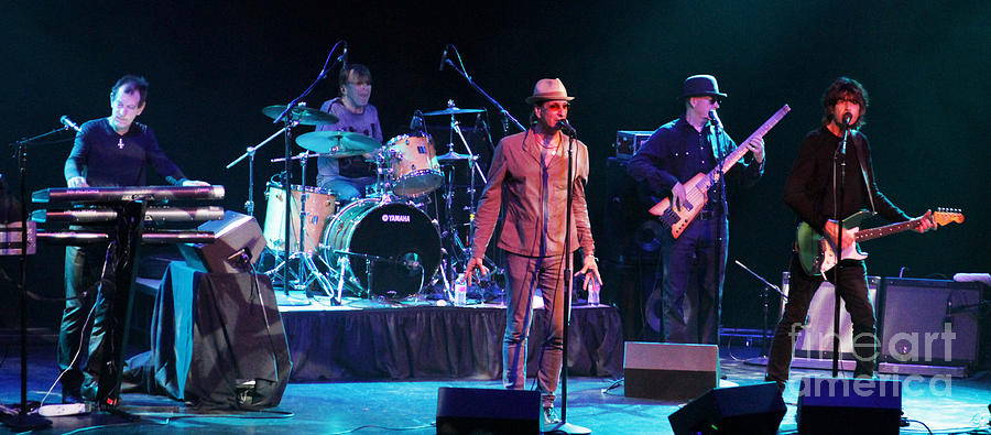 Cy Curnin Photograph - The Fixx - Beautiful Friction by Anthony Gordon Photography