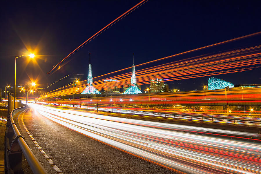 Interstate Photograph - The Flash by David Gn