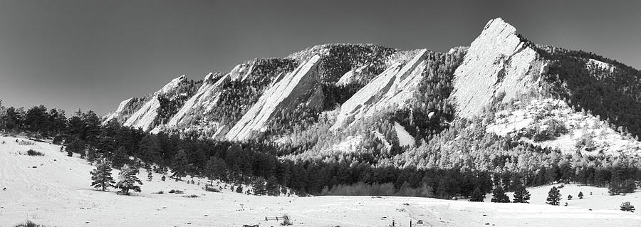 Rocky Mountains Photograph - The Flatirons by Guy Whiteley