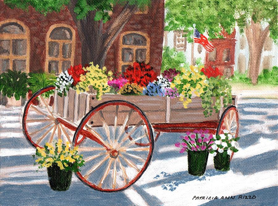 Artist Painting Carts