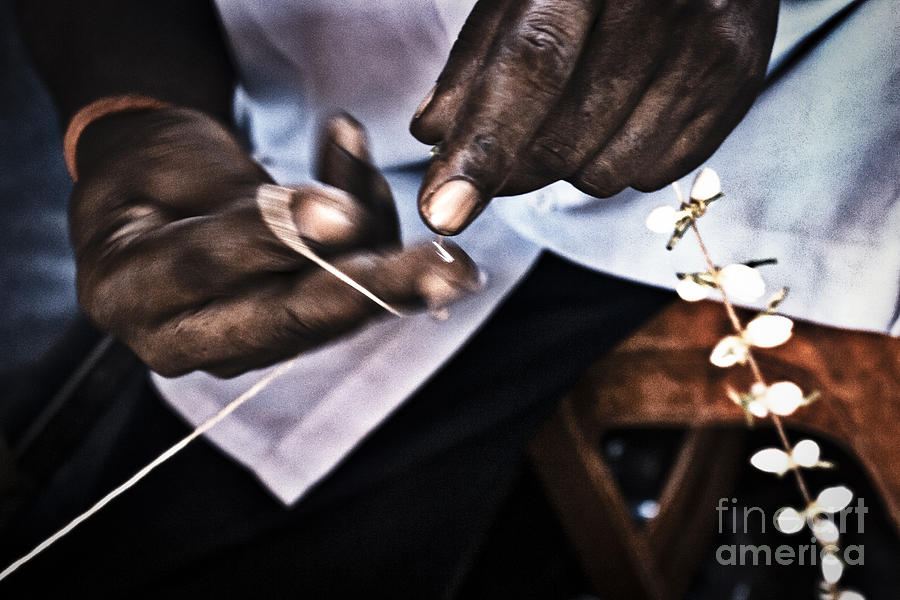 Kuala Lumpur Photograph - The Flower Maker by Soren Egeberg