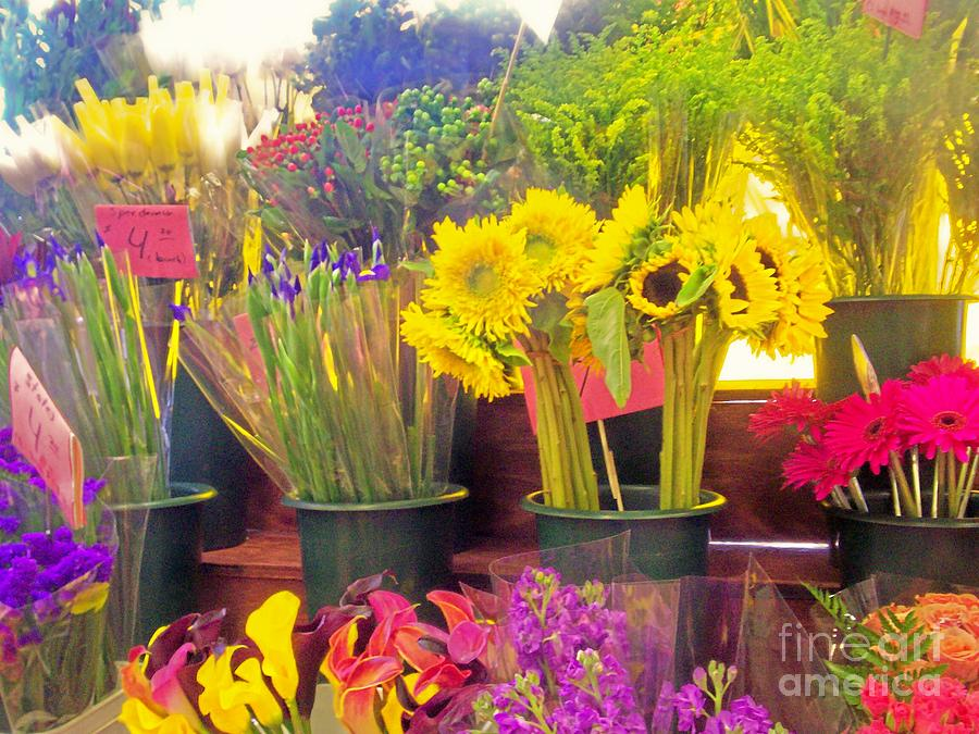 Love Photograph - The Flower Stand  by Kristine Nora