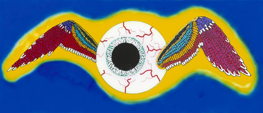 The Flying Eye Painting by Patrick OLeary