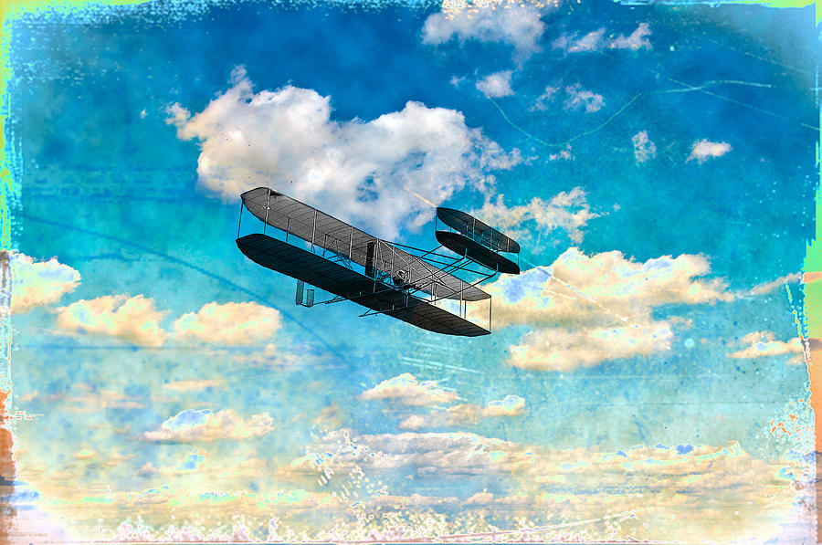 The Flying Machine Photograph - The Flying Machine by Bill Cannon
