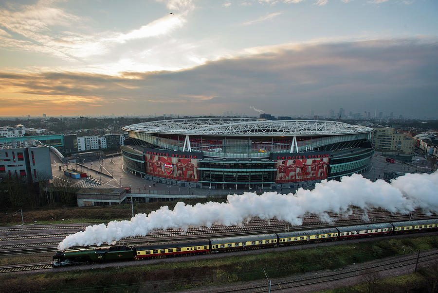 The Flying Scotsman Travels The East Photograph by Justin Setterfield