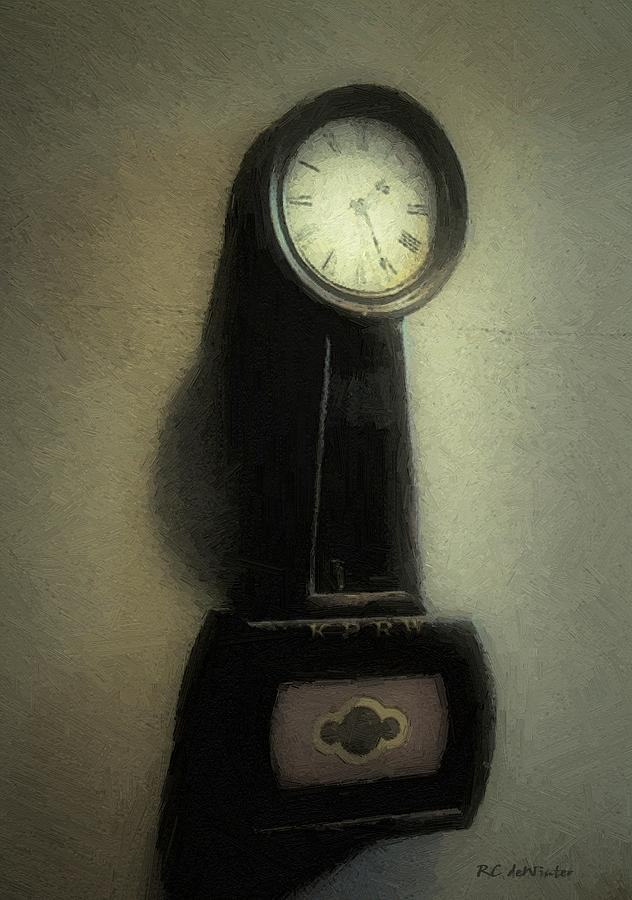 Antique Painting - The Forgiveness Of Time by RC DeWinter