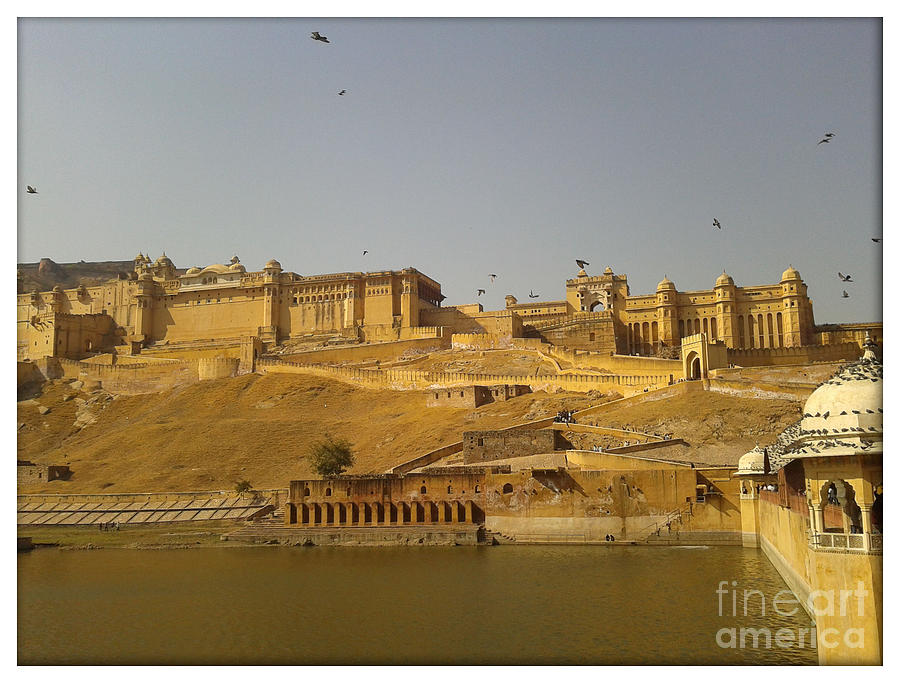 Amber Fort Photograph - The Fort  by Ankit Garg