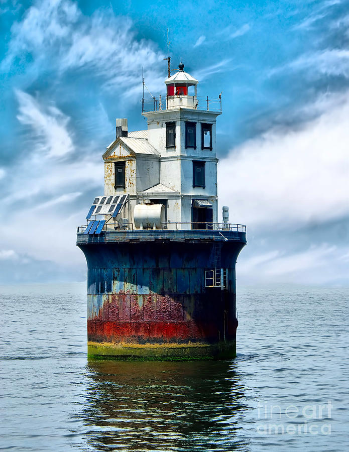 The Fourteen Foot Bank Lighthouse Photograph