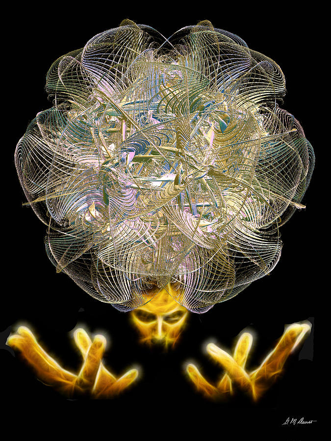 Fractal Digital Art - The Fractal Artist by Michael Durst