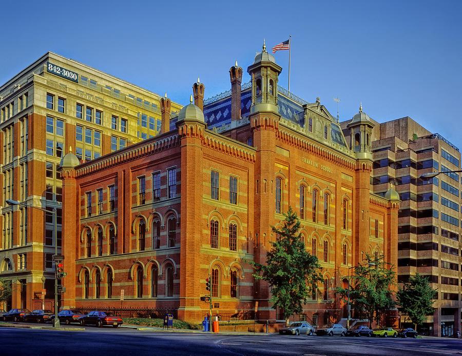 Washington D.c. Photograph - The Franklin School - Washington Dc by Mountain Dreams