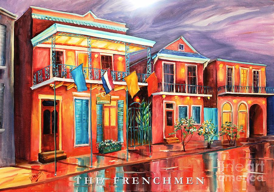 New Orleans Painting - The Frenchmen Hotel New Orleans by Diane Millsap