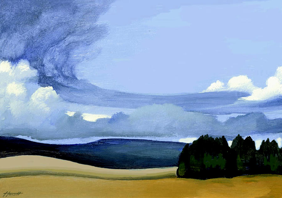 Landscape Painting - The Front by Patricia Howitt