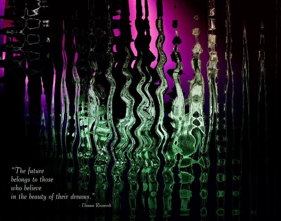 Abstract Digital Art - The Future by Gerlinde Keating - Galleria GK Keating Associates Inc