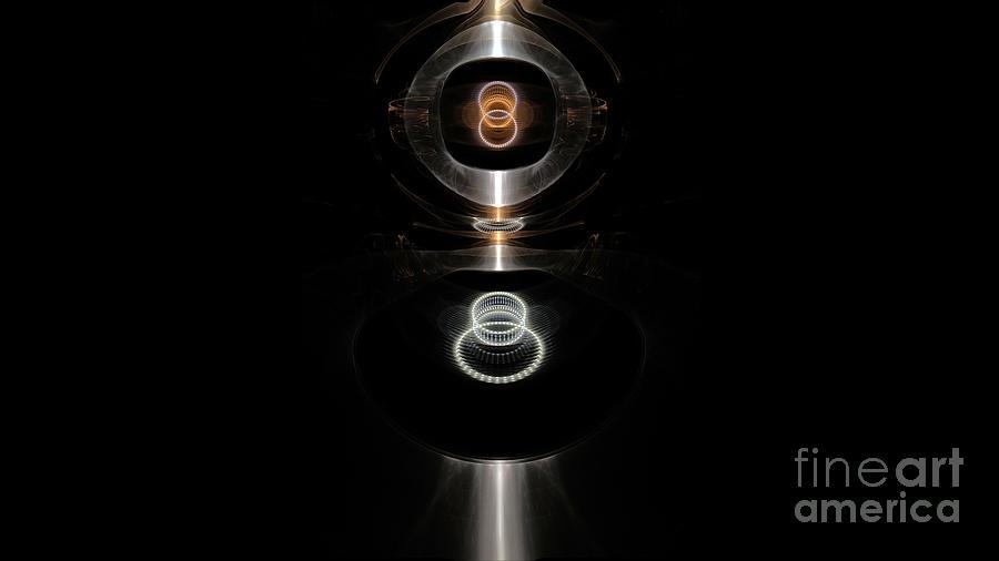Peter R Nicholls Abstract Fine Artist Canada Digital Art - The Future Toilet   by Peter R Nicholls