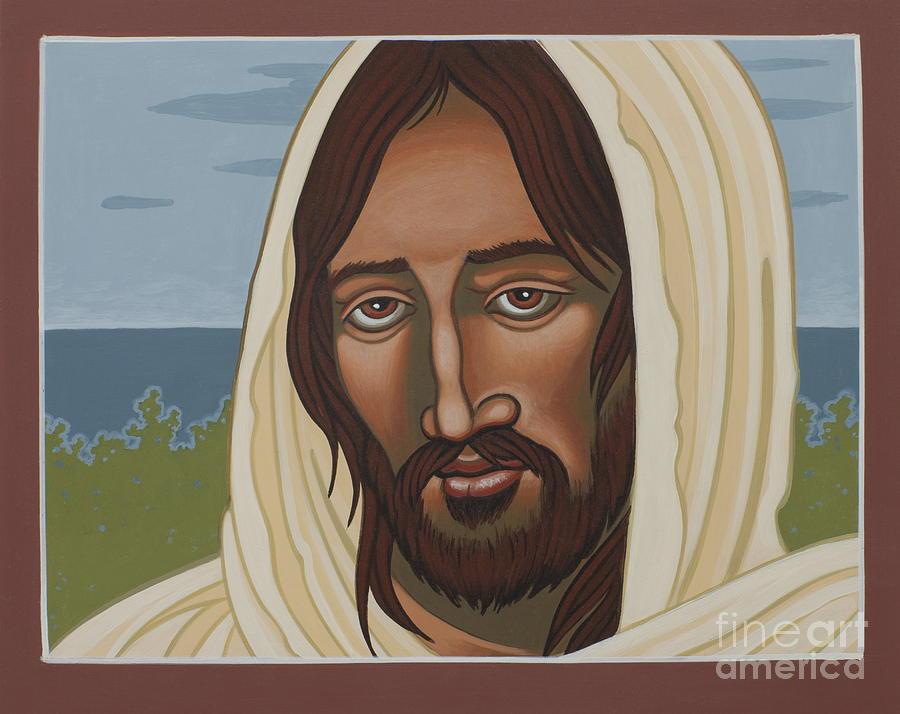 Jesus Painting - The Galilean Jesus 266 by William Hart McNichols