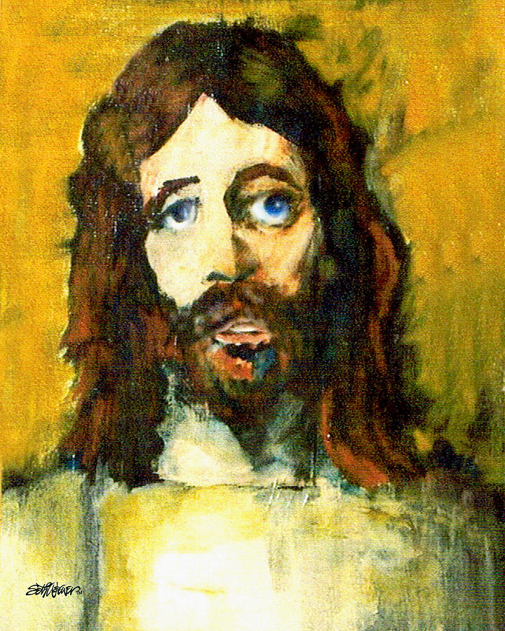 Jesus Christ Painting - The Galilean by Seth Weaver