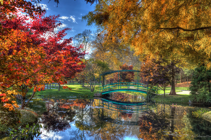 The Garden Bridge by Bill Averette