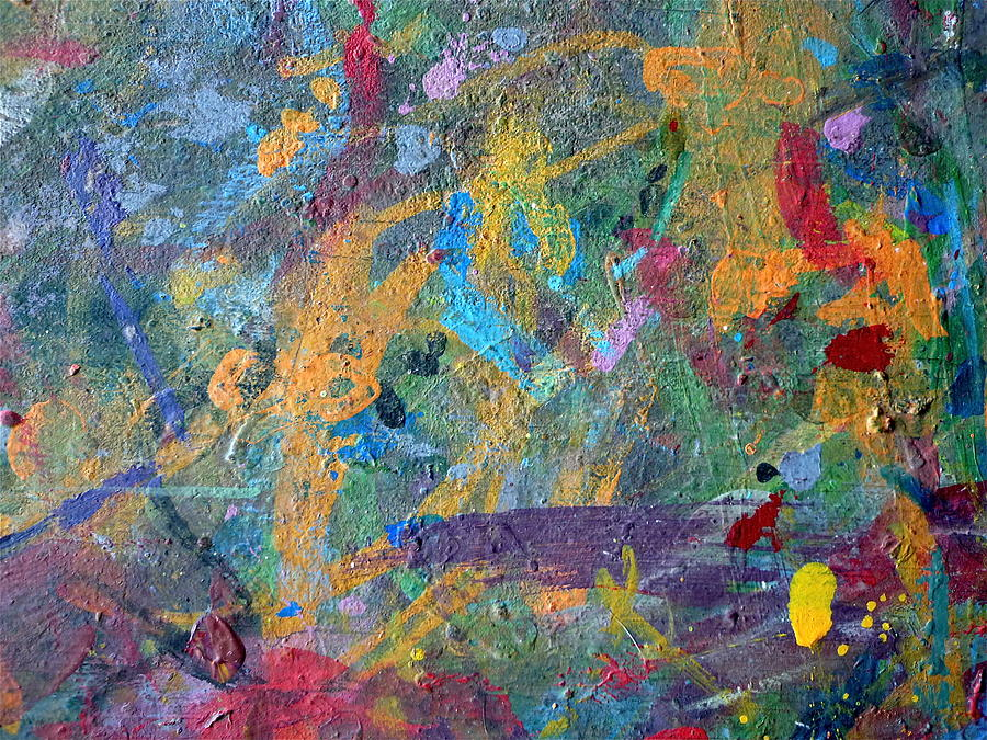 Abstract Painting - The Garden  by Gregory Young