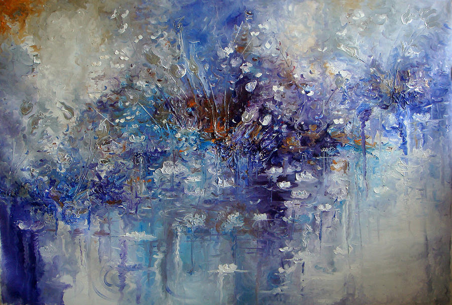 Hermes Painting - The Garden Monet Didnt See by Hermes Delicio