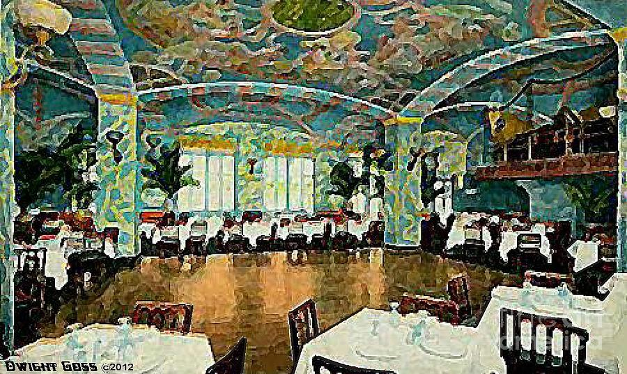 The Garden Restaurant In The Park Central Hotel In New York City In ...