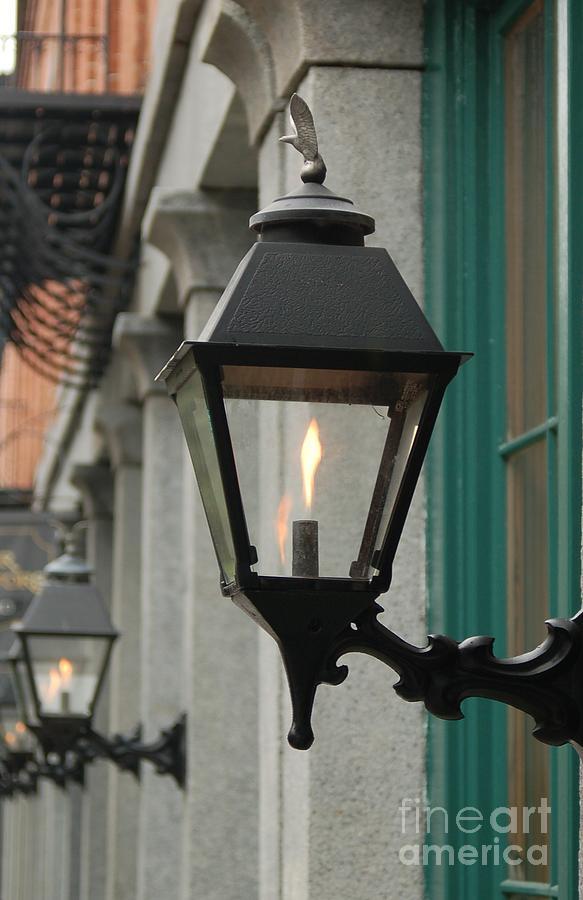 Savannah Georgia Photograph - The Gas Light by Patrick Shupert