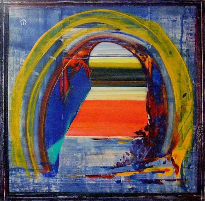 The Gateway To The Space. Painting by Paul Pulszartti