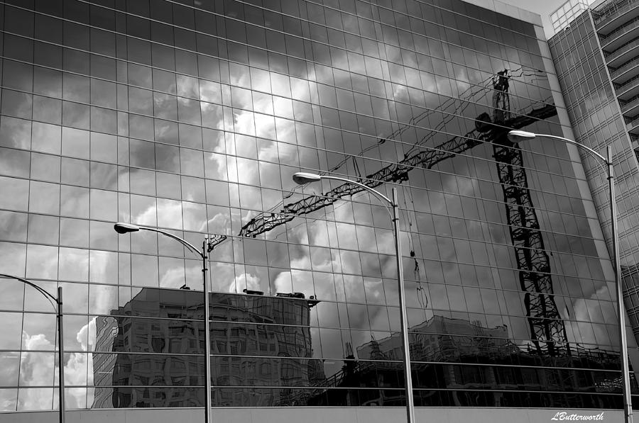Architecture Photograph - The Gathering Storm by Larry Butterworth