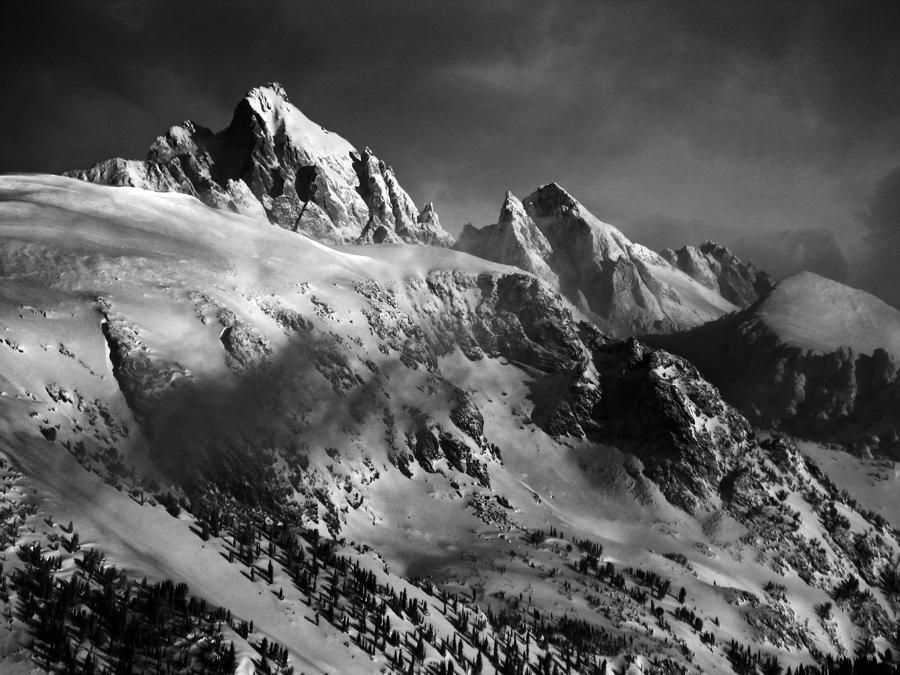 Grand Teton Photograph - The Gathering Storm by Raymond Salani III