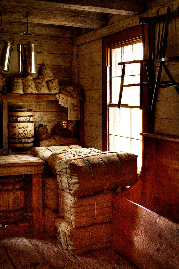 Fort Nisqually Photograph - The General Store by David Patterson