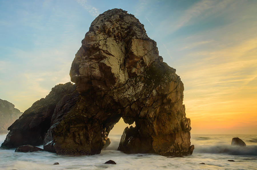 Rock Photograph - The Giant Of The Seas I by Marco Oliveira