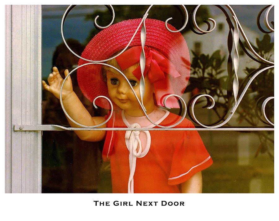 Fantasy Photograph - The Girl Next Door by Lorenzo Laiken