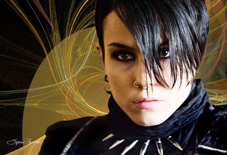 Dragon Tattoo Photograph - The Girl With The Dragon Tattoo by Sylvia Thornton