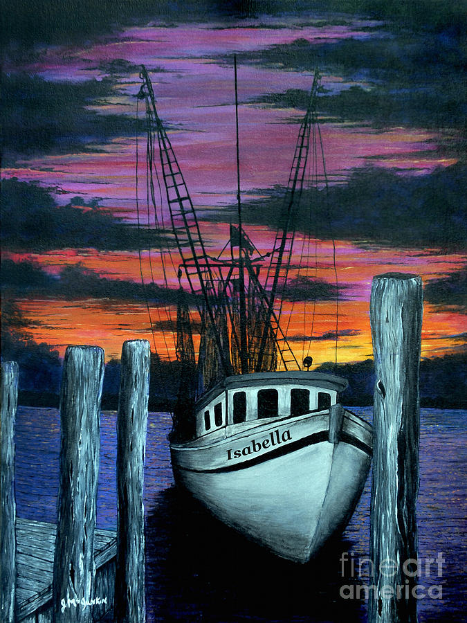 Gloaming Painting - The Gloaming by Jeff McJunkin